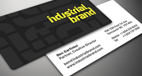 Industrial Brand Business Cards